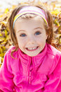 Expressive little girl Royalty Free Stock Photo