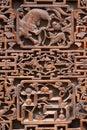 Exquisite ancient woodcut