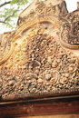 Exquisite carving cambodias carvingï¼›cambodias temple of aresï¼›cambodias triumphal archï¼› Royalty Free Stock Image
