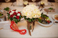 Exquisite natural beautiful bridal bouquet of flowers
