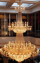 Exquisite Pendant Lamp Stock Photo