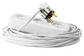 Extension cord with plugs and socket Royalty Free Stock Photos