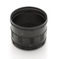 Extension rings for macrophotography isolated photography camera accessory macro tubes macro work Stock Images