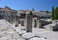 The extensive roman ruins at vaison la romaine provence france villasse these are these gallo remains are situated in Stock Photography