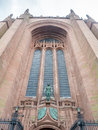 Exterior architecture of Liverpool cathedral Royalty Free Stock Photo