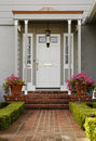 Exterior of a Front Door Royalty Free Stock Photo