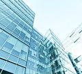 Exterior of modern  business center Royalty Free Stock Photo