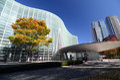 Exterior of National Art Center, Tokyo, Japan Royalty Free Stock Photo