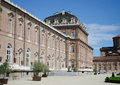 Exterior of venaria reale palace near turin italy view the reggia di from the gardens baroque royal Royalty Free Stock Image
