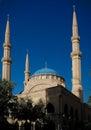 Exterior view to Mohammad Al-Amin Mosque, Beirut, Lebanon Royalty Free Stock Photo
