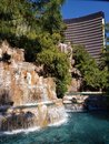 exterior view of the Wynn Hotel in the city of Las Vegas, Nevada at day