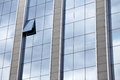 External facade of a modern glass office block Royalty Free Stock Photo