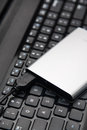 External HDD and laptop Royalty Free Stock Photo