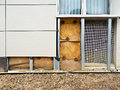 External insulation of a building Royalty Free Stock Image