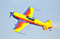 Extra 300S aerobatics airplane Royalty Free Stock Photo