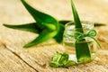 Stock Image Aloe vera gel