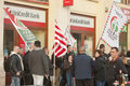 Extreme rightist strike in Budapest on March 15 Stock Photography