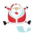 Extreme Santa Stock Photography