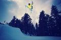 Extreme Skier Royalty Free Stock Image