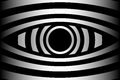 Eye - abstract background