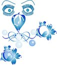 Eye blue Royalty Free Stock Photography
