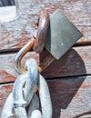 Eye Bolt: Metal Details Royalty Free Stock Photo