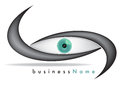 Eye brand for medical company with eyeball Royalty Free Stock Photography