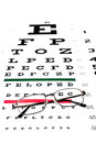 Eye exam Royalty Free Stock Photo