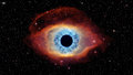 Eye of God in nebula Helix Royalty Free Stock Photo