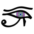 Eye of Horus Royalty Free Stock Photo