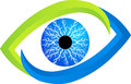 Eye logo Royalty Free Stock Images