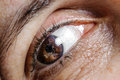 Eye Macro Adult Woman