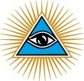 Eye Of Providence - All Seeing Eye Of God Royalty Free Stock Image