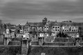Eye on the rooftops of aberdeen Stock Photo
