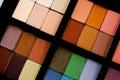 Eye Shadow Palette Royalty Free Stock Photo