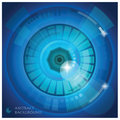 Eye shape abstract background vector design template Royalty Free Stock Photo