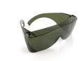 Eye shields over white shallow dof Royalty Free Stock Image