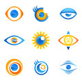 Eye symbol vector Stock Photography