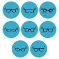 Eye-wear icon designs