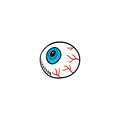 Eyeball cartoon