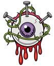 Eyeball Royalty Free Stock Photo