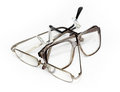 Eyeglasses isolated on white. Stock Images