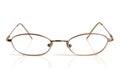 Eyeglasses on a white background Stock Image