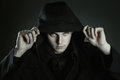Eyes of the beast halloween and gothic Royalty Free Stock Photos
