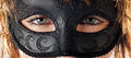 Eyes behind the mask Royalty Free Stock Photography
