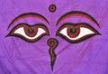 Eyes of Buddha Royalty Free Stock Photo