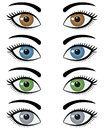 Eyes of Woman Set