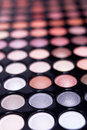 Eyeshadow palette professional set Royalty Free Stock Photo