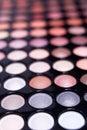 Eyeshadow palette professional set Royalty Free Stock Photo
