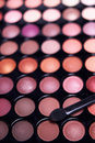Eyeshadow palette professional set Stock Images